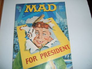MAD MAGAZINE ALFRED E NEUMAN FOR PRESIDENT SEPTEMBER 1976 185