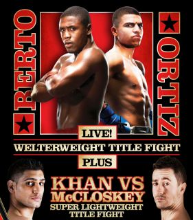 Victor Ortiz vs. Andre Berto HD Blu Ray Full Fight Boxing Bluray not
