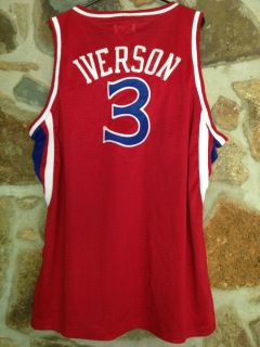 ALLEN IVERSON 3 76ers Sixers Mitchell Ness Basketball Jersey NWT Size
