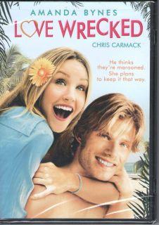 Love Wrecked New DVD Amanda Bynes Chris Carmack Jamie Lynn Sigler