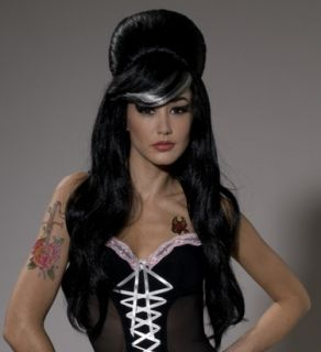 Sexy Amy Winehouse Blues Singer Halloween Costume Wig
