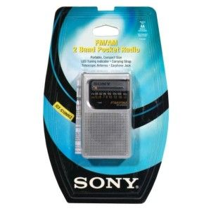 sony fm am 2 band pocket radio 1 radio description