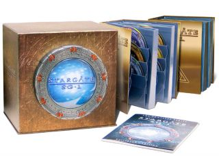 Stargate SG 1 The Complete Series Collection 54 Disc Set New DVD