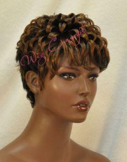 Vanessa Short Curly Pre Styled Human Hair Wig HH Nana