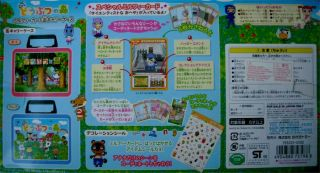 Animal Crossing Lunch Box Set for Cards Sticker Pack