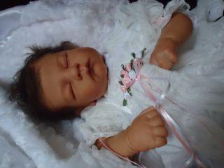 Rebornbabys Nursery~ ANDREA~ Ethnic Reborn Baby Linda Murray