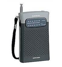 RadioShack 12 467 Am FM Pocket Radio