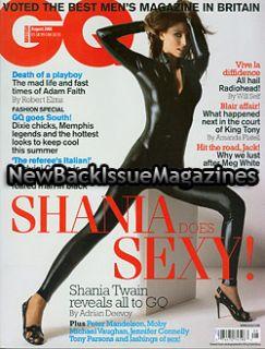 UK GQ 8 03 Shania Twain Josie Maran ANA Beatriz Barros