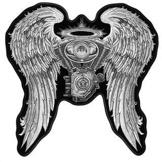 Angel Wing Patches