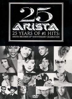 Arista 25 Years of 1 Hits DVD, 2000