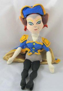 Treasure Planet Captain Amelia Plush 16