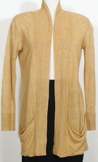 nwt eileen fisher honey linen delave easy cardigan 1x