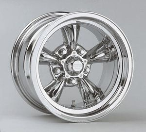 American Racing Torq Thrust D Chrome Wheel 15x8 5 5x4 5 Set of 2