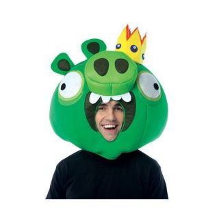 angry birds king pig adult mask rovio video game app costume prop