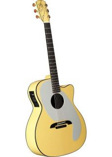 New Alvarez Yairi Ani DiFranco ADY1 Acoustic Electric Guitar with Case