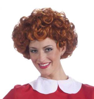 Adult Orphan Annie Broadway Musical Halloween Costume Wig
