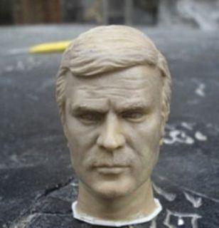 Custom made SIX MILLION DOLLAR MAN 1/6 Action Figure Head fit Hot toys