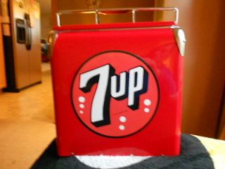retro style 7 up soda cooler nib not vintage time