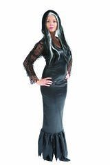 black morticia addams family halloween fancy dress 8 10 from