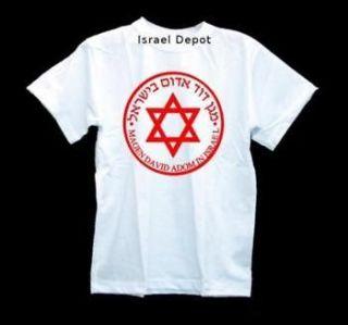 Israel Red David Star Ambulance Medical T shirt S M L XL XXL 3XL 4XL