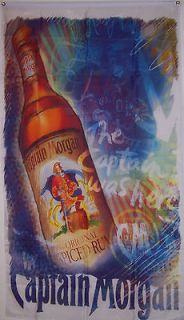 new 3ftx5ft captain morgan rum ad indoor outdoor flag time