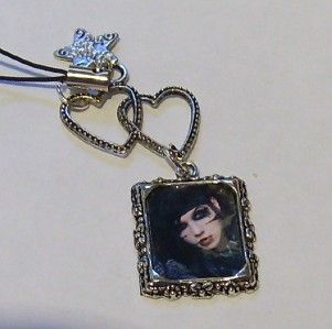 andy sixx mobile phone charms black veil brides