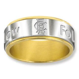 sale **** SUPERB GLASGOW RANGERS FOLLOW FOLLOW RING *****sale