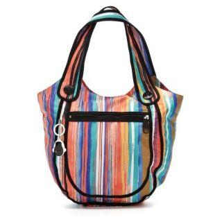 KIPLING KUWANA Hobo Tote Shoulder Bag Dizzy Print