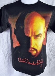 Anton lavey Shirt Satanic Bible Evil Black Magic Devil