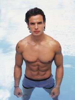 Antonio Sabato Jr SHIRTLESS 8x10 Photo