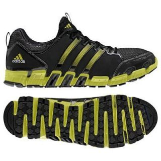 ADIDAS Mens Climacool Ride Trail CC Running Shoes Black/Gr​een $80