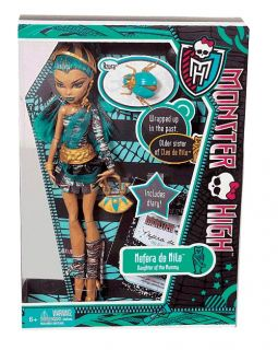 Monster High Nefera de Nile Doll Pet Azura & Diary Brand New in Box