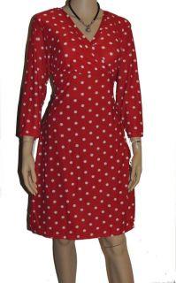 SMART LONG V NECK FLORAL dress/BLACK RED AND WHITE Size 22