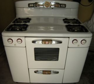 Antique Tappan Gas Stove from Early 1950s Model AV 669 16