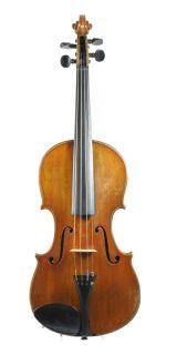 Fine old antique German master violin labelled Max Renz 1934