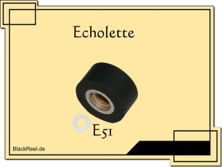 Klemt Echolette E 51 E51 pinch roller rubber roller for Tape Echo