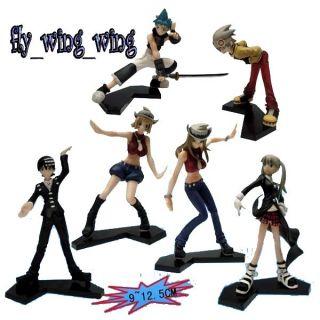 Soul Eater anime PVC figures set 6 of pcs NEW!!!!