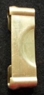 description reproduction of the anson mills u s pistol belt plate