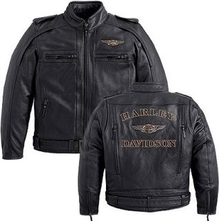 Harley Davidson Anniversary Mens Limited Edition Leather Jacket 97146
