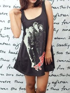 Arctic Monkeys Alex Turner Pop Art Indie WOMEN T SHIRT DRESS Tank TOP