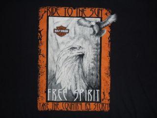 Harley Davidson Free Spirit T Shirt Apache Junction AZ 2XL