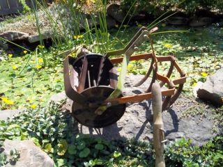 vtg antique garden cultivator tiller plow ro ho rowe hoe farm tool
