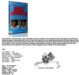 DEADLY ENCOUNTER   Larry Hagman, S. Anspach [DVD] *PAL*