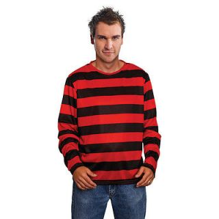 FREDDY KRUEGER RED/BLACK STRIPE JUMPER   Halloween Dennis the Menace