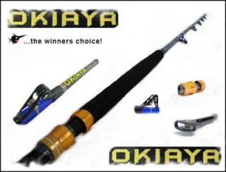 okiaya composit 30 80lb saltwater big game roller rod time