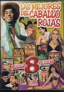 Las Mejores Del Caballo Rojas DVD NEW 8 Pk Las Siete Cucas Y Mucho Mas