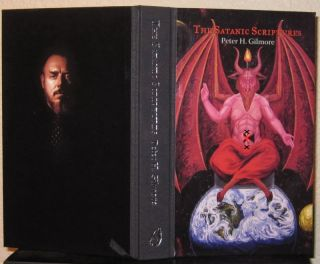 Satanic Scriptures HB Anton lavey Church of Satan Occult Grimoire Sold