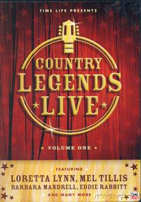 Country Legends Live Vol 1 DVD Gatlins Twitty Gilley Mel Tillis