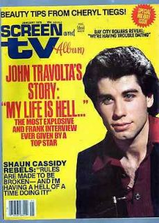 Tv John Travolta Shaun Cassidy Alice Faye Bay City Rollers John Wayne