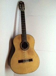 vintage aria acoustic guitar model a554 w hard case